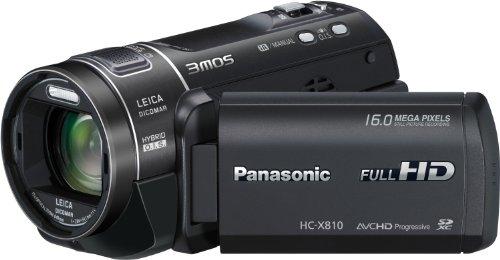 Panasonic HC-X810 ( Speicherkarte,1080 pixels,SD/SDHC/SDXC Card )