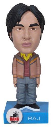 Funko - Bobble Head Big Bang Theory - Raj 18cm - 0830395028682