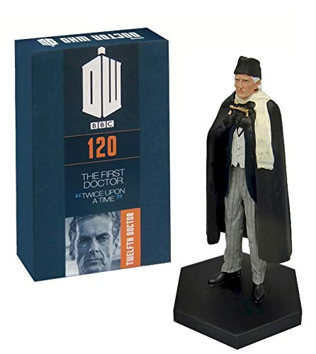 Official Licensed Merchandise Doctor Who Figur 'The First Doctor From 2017 Once Upon A Time' handbemalt im Maßstab 1:21 Sammlerbox Modellfigur #120