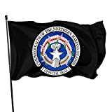 DBXAU Seal of The Northern Mariana Islands Flag 3x5 ft UV Fade Resistant Flag with 2 Brass Grommets Outdoor Printing
