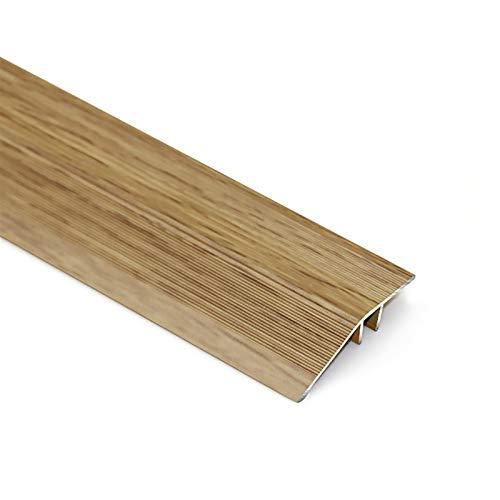 Fanuosuwr Práctico Cordón de Umbral Trimador de umbral de Piso Costador de corazonado de Puerta Peladura Alfombra de umbral 4.5x120cm Perfil Borde del azulejo Diseño Práctico