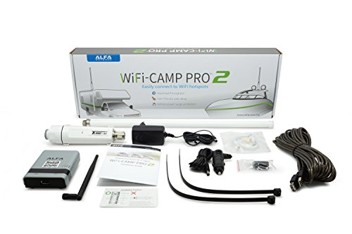Alfa WiFi Camp Pro 2 Long Range WiFi Repeater RV kit R36A/Tube-(U) N/AOA-2409-TF-Ant