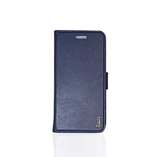 Aiino - Custodia integrale a libro, porta tessere in eco Finta Pelle per telefono smartphone Apple iPhone 6/6s - Blu