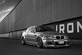 bmw m3 white on black