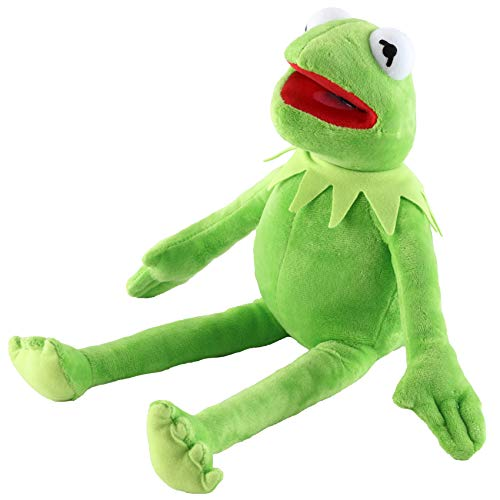 Kermit The Frog Plush Doll, The Muppets Movie Soft Stuffed Plush Toy, 16 inches (Green)