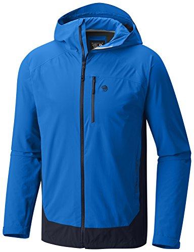Mountain Hardwear - Giacca Ozonic elasticizzata da uomo, taglia M, colore: Blu