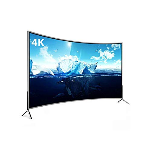 YINxy 75'Smart HD Ready LED TV, Pantalla Superficie Curva, Entrada Red, HDMI X 2, USB 2.0 X 2, Entrada Antena, Decodificador/Entrada DVD