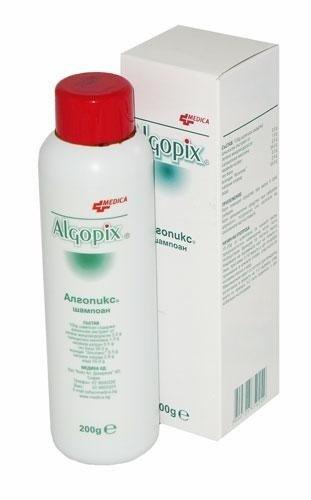 Algopix Shampoo für Seborrhoe mit grünen Mikroalgen, Salicylsäure und Wacholderteer 200g