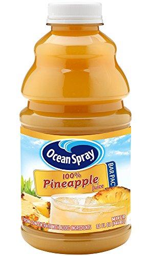 Ocean Spray 100% Pineapple Juice, 32 Ounce