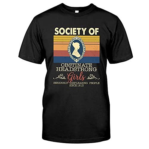 Society of Girls - Camisa de lectura, regalos para lectores, camiseta de libro, camiseta sobre lectura, camiseta, Negro, XXL