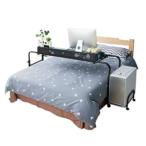 Home&Selected laptoptafel, computertafel, computertafel, meubel, verstelbaar, in breedte en hoogte 140 cm