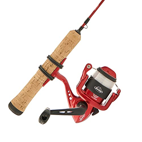 Berkley Cherrywood HD Ice Spinning Reel and Fishing Rod C