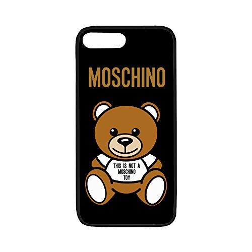 iuBenSeGuan [Moschino TPU Soft Phone Cases for Samsung Galaxy S5, Custodia telefonica,Copertura del Telefono,Mobile Phone Shell Covers,Moschino-Logo