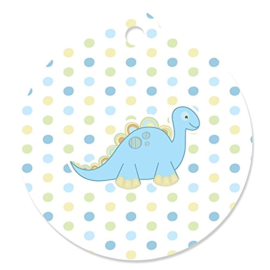Baby Boy Dinosaur - Baby Shower Favor Gift Tags (Set of 20)