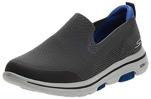 Skechers mens Go Walk 5 Sneaker, Charcoal, 7 US