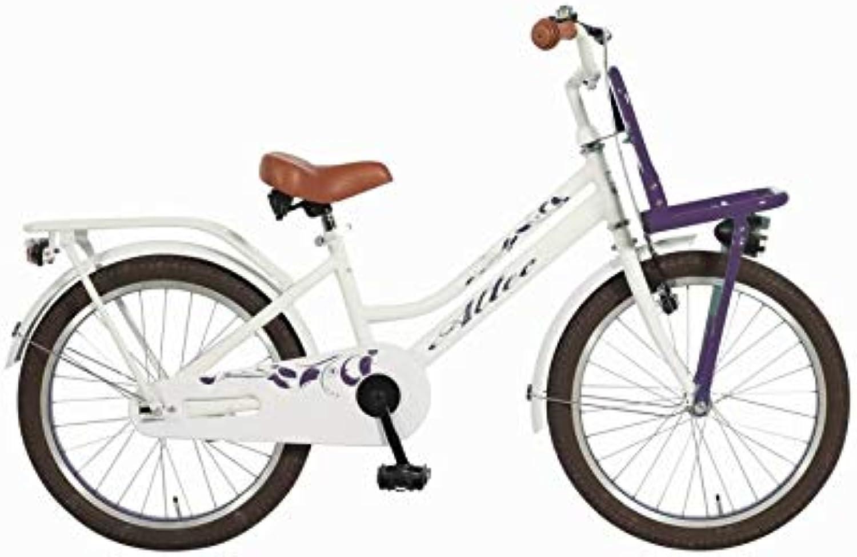 Altec 20 Zoll Kinder City Fahrrad Kinderfahrrad Cityfahrrad Mdchenfahrrad Bike Rad Rücktrittbremse Beleuchtung Fronttrger TUANA LILA WEI
