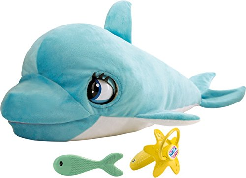 IMC Toys- Club Petz Blu, Il TENERO Cucciolo di Delfino,...