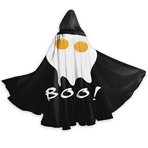 Zome Lag Hexe Teufel Umhang,Erwachsenen Umhang,Kapuzenumhang,Kostüm Cape,Halloween Cosplay Kostüme,Halloween Lustige Ei Mantel des Hexenmeisters, Devil Witch Wizard Cape