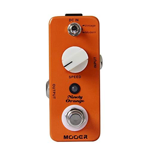 CAMOLA Mooer Ninety Orange Phaser Pedal Guitar Effects Full Analog Circuit Vintage/Modern Modes True Bypass