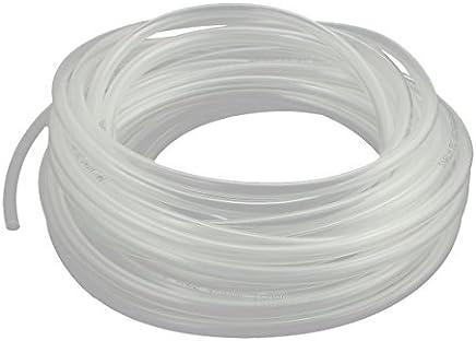 DealMux 8mm Dia transparente Tubo termocontra/íble clara tuber/ía del encogimiento del alambre de la manga 1M 5PCS