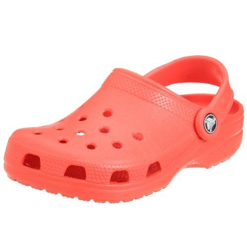 Crocs Crocs Classic, Unisex-Kinder Clogs, Rouge (Ruby), 33