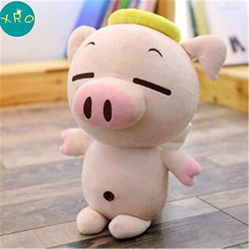 XRQ Juguete De Peluche De Cerdo Linda Almohada Relajante Pequeño Cerdo Descompresión Muñeca Decoración del Hogar Niños, Color 4,60cm