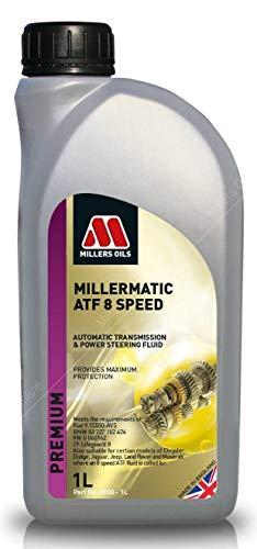 Millers Oils Millermatic ATF Liquide de Transmission Automatique 8 Vitesses 1 Litre