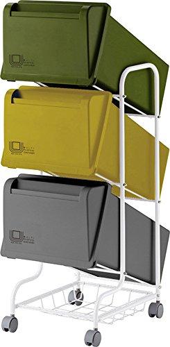 リス『分類ゴミ箱』 コンテナスタイル3 CS3-80 80L MX4