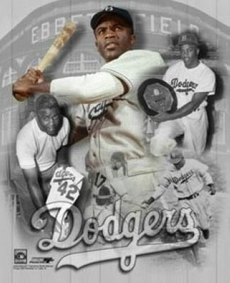 Jackie Robinson Brooklyn Dodgers MLB 8x10 Photograph Legends Collage