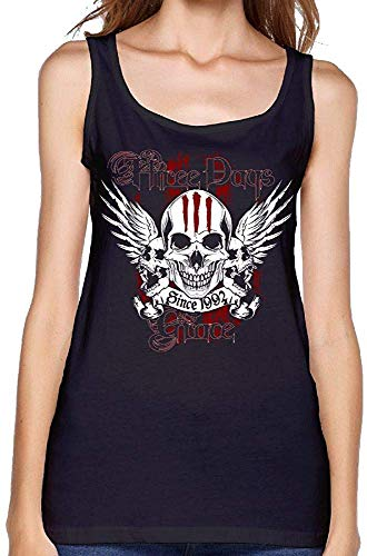 Women Sexy Three Days Grace Vest Funny T-Shirt Young Girl Tank Top