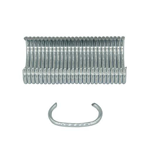 China-top SC760 - Anillo de plata con corona en forma de C (calibre 16, 5/8')