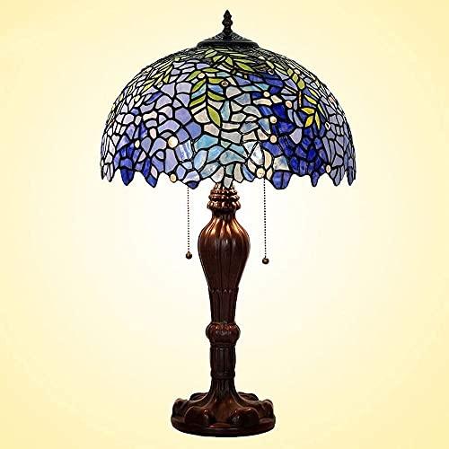 CMMT Lámpara de Mesa Lámpara de Mesa Creativa LED de 16 Pulgadas, Sala de Estar, Dormitorio, lámpara de Noche, lámpara de Cristal de Amor de glicina