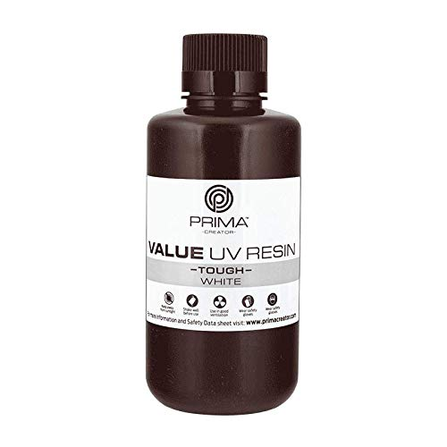 PrimaCreator Value Tough UV Resin (ABS Like) - 500 ml - White