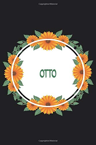 Otto: Personalized Notebook | Otto's Personal Writing Journal | Blank lined notebook | Note Taking for Otto