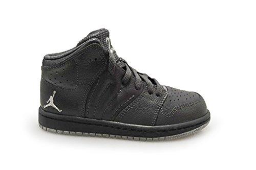 Nike - Zapatillas altas Unisex, para niños , color gris, talla 29,5 EU