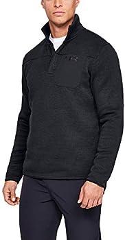 Under Armour Men's Specialist Henley Brushed Fleece Long Sleeve Sweater