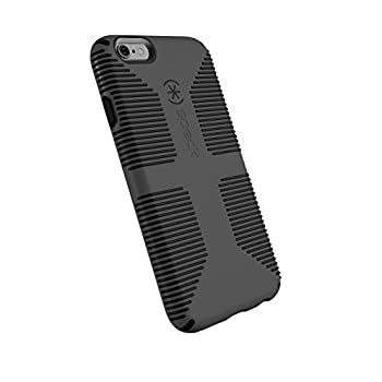 Speck Products CandyShell Grip Cell Phone Case for iPhone 6 Plus iPhone 6S Plus - Slate Grey/Black