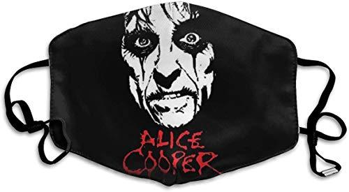 Funda para nariz unisex reutilizable con tapa Alice Cooper con trabillas ajustables...