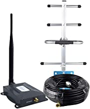 AT&T Signal Booster 4G LTE Cell Phone Signal Booster AT&T Cricket T-Mobile 700mhz Band 12/17 Cell Signal Booster ATT Cell Phone Booster Home Mobile Signal Amplifier Yagi Antenna Kit Boost 4G Data/Call