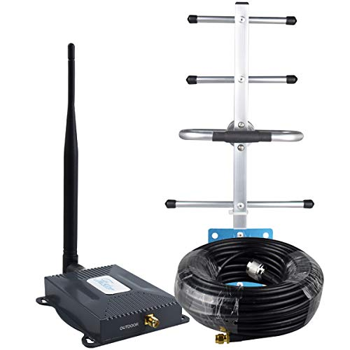 AT&T Signal Booster 4G LTE Cell Phone Signal Booster AT&T Cricket T-Mobile 700mhz Band 12/17 Cell...