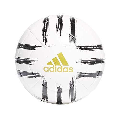 Adidas Men's JUVE CLB Soccer Ball, White/Pantone/Matte Gold,...
