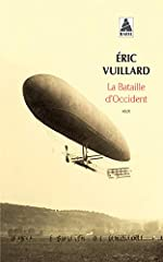 La bataille d'Occident d'Eric Vuillard