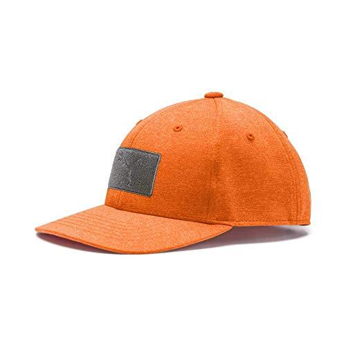 Puma Golf 2019 Kid's Utility Patch Hat (One Size), Vibrant Orange