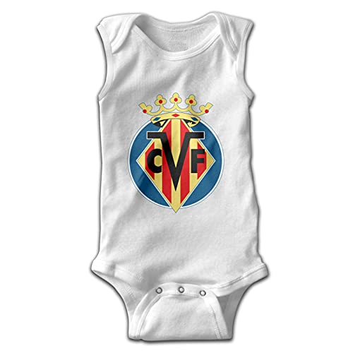 Aiier Vil-Larreal Logo Baby Jumpsuit ?rmelloser Jumpsuit Rundhalsbaumwolle Bequem