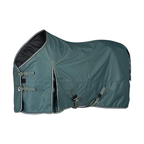 horze Glasgow Weidedecke Regendecke fur Pferde, 0g, Decke fur Pferd, Silver Pine Gre, 155
