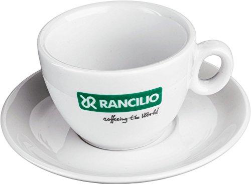 Rancilio Cappuccinotasse mit Unterteller