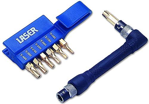 Laser 1312 Lot d'embouts Torx 7 pièces