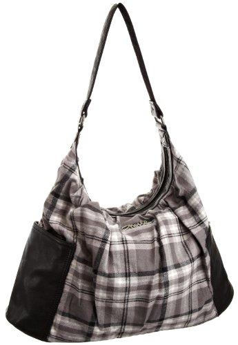 O 'Neill Lundy Hobo Bag–Accesorio de Viaje, Mujer, Lundy Hobo Bag, Gris, Talla única