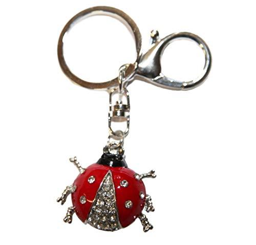 Maryjski ÄFER błyszczący pierścionek Bling Strass zawieszka kryształ Keychain breloczek do kluczy auto torebka akcesoria do telefonu komórkowego Wielkanoc urodziny rocznicę przyjaciel dziewczynka WWW.VIENNA -FASHION.AT Austria (434)