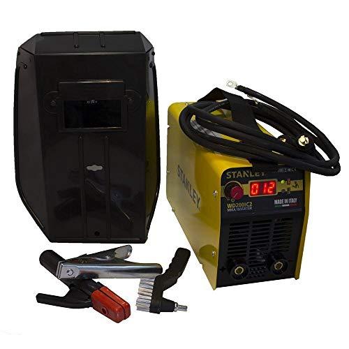 Stanley WD200IC2 200A - Kit de soldador inverter para camisas